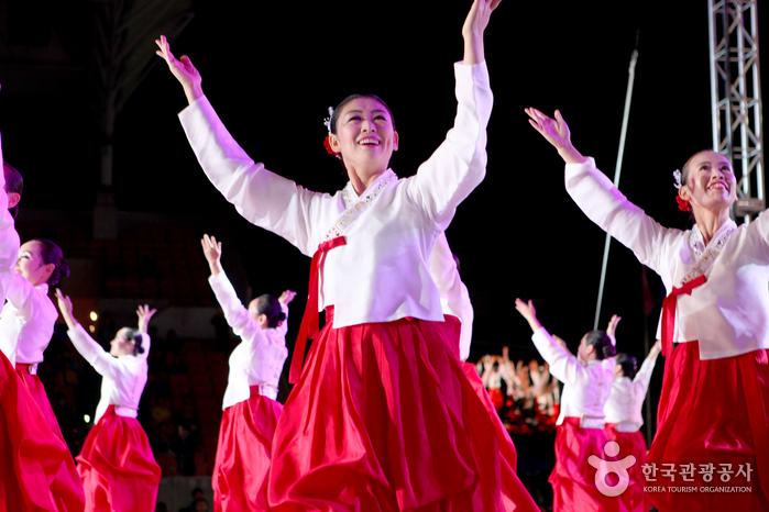 우리나라 전통춤을 알리는 '한국전통의 날' 공연.