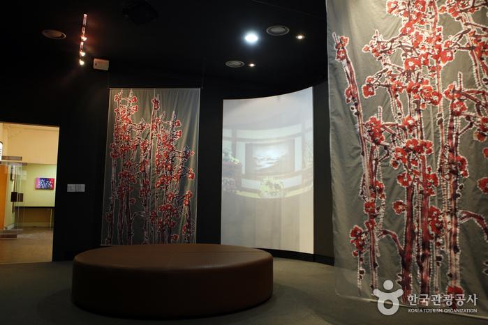 매월당 김시습기념관 내부