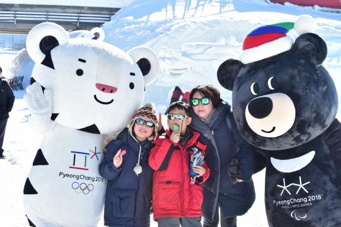 대관령 눈꽃축제 2018 사진4