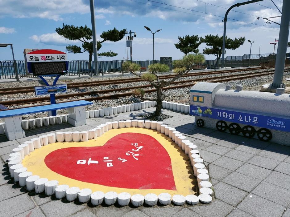 Jeongdongjin Station (정동진역)