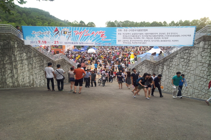 Daegu Chicken and Beer Festival (대구치맥페스티벌)