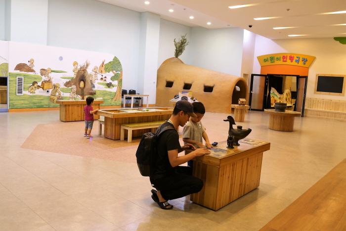 어린이박물관 내부