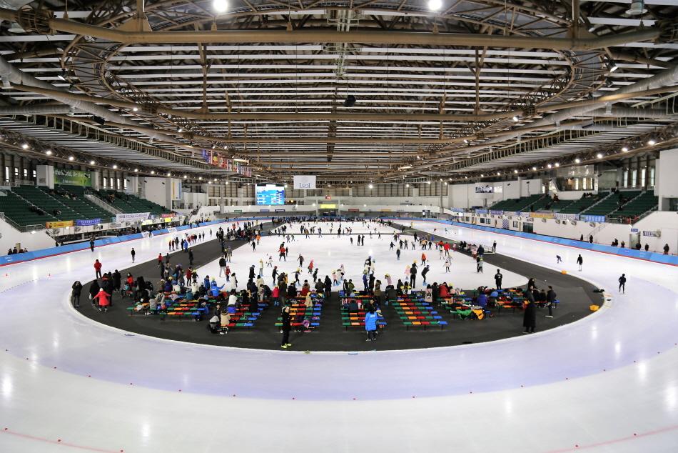 400m 국제 규격을 갖춘 태릉국제스케이트장