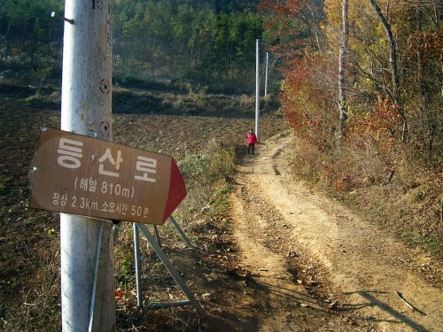 Mindungsan Mountain (민둥산)