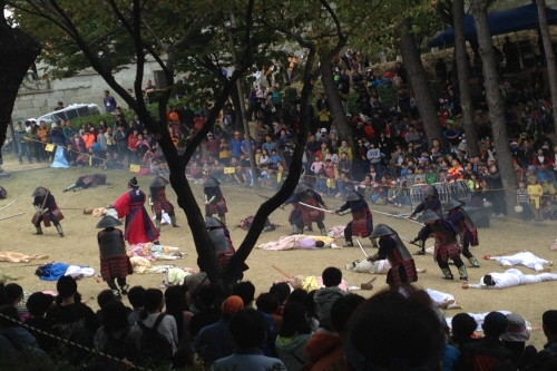 Dongnaeeupseong Geschichte Festival (동래읍성 역사축제)