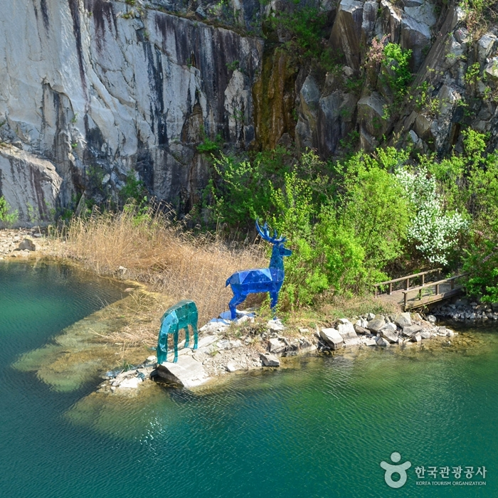 Pocheon Art Valley & Pocheonseok Rocks - Hantangang River Geopark (포천아트밸리와 포천석 (한탄강 국가지질공원))