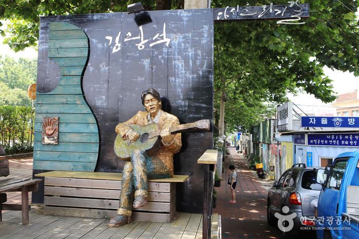 Rue Kim Gwang-seok (김광석 길)