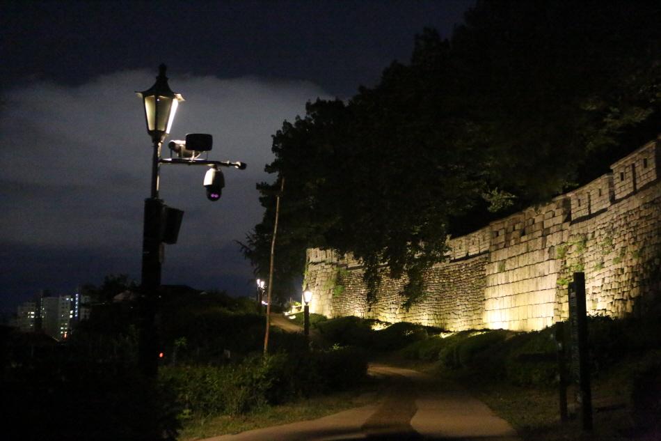 옥수수알모양 성벽