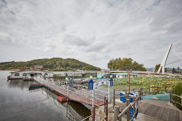 神井湖観光地(신정호관광지)