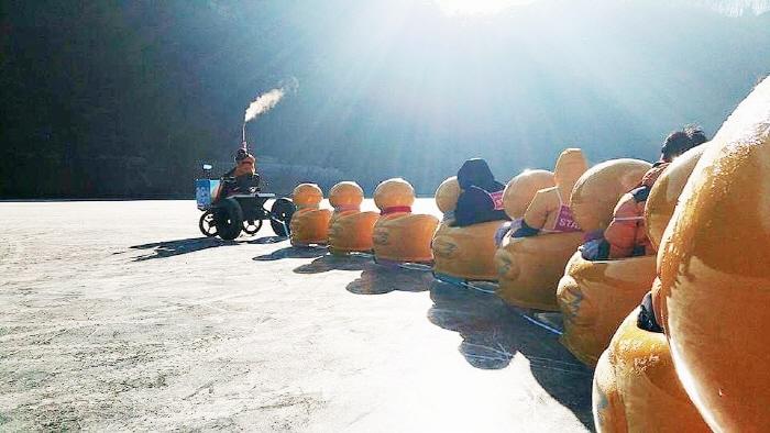 포천산정호수 썰매축제 2019