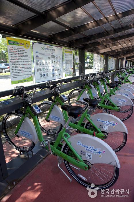 무인 자전거대여소