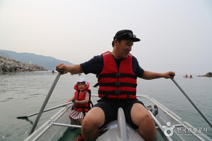 균형 잡기가 중요한 카누체험