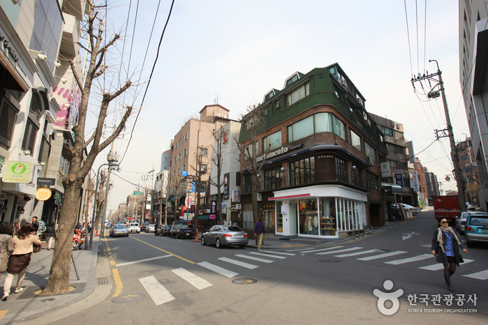 Sinsadong Garosu-gil Road ( )