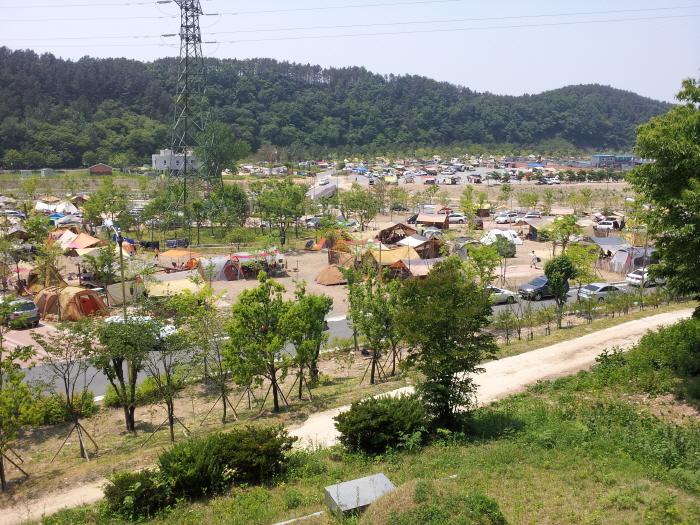 캠핑대회전경
