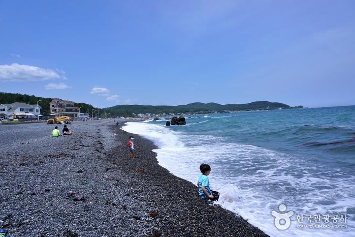 朱田鵝卵石海邊(주전몽돌해변)9