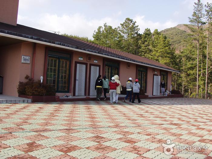 Berg Baegunsan (백운산자연휴양림)
