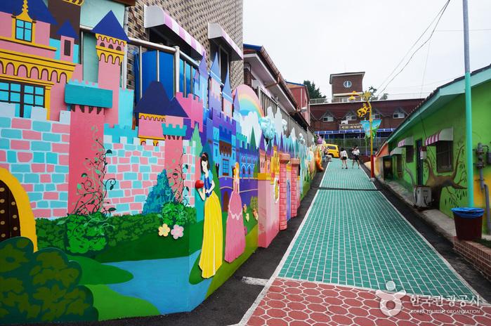 """""""Spezielle Touristenzone"""" Wolmi (월미 관광특구)"""