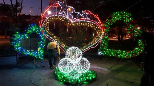 복정동 빛 축제 2017  사진5