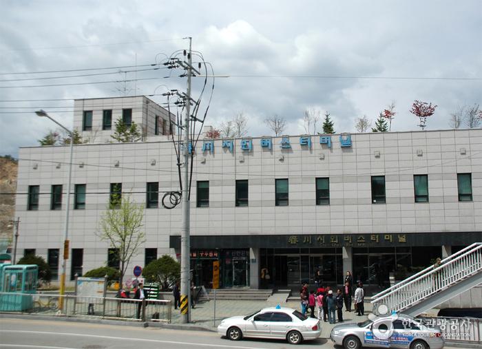 春川市外バスターミナル(춘천시외버스터미널)