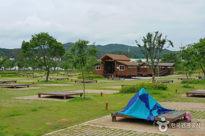 Jaraseom Island Auto Campground (자라섬오토캠핑장)