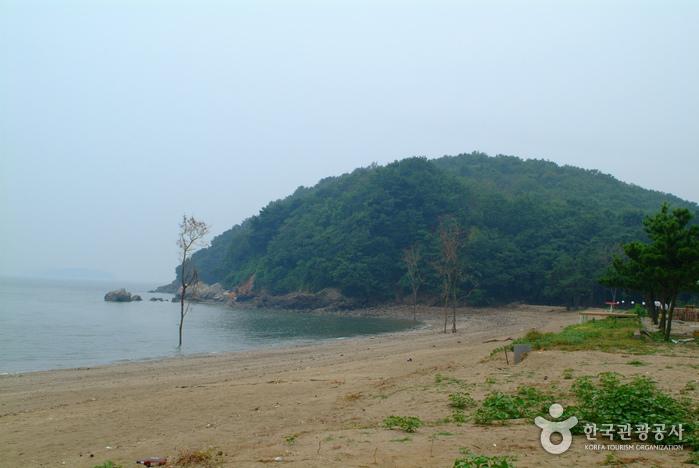 장봉도 옹암해변