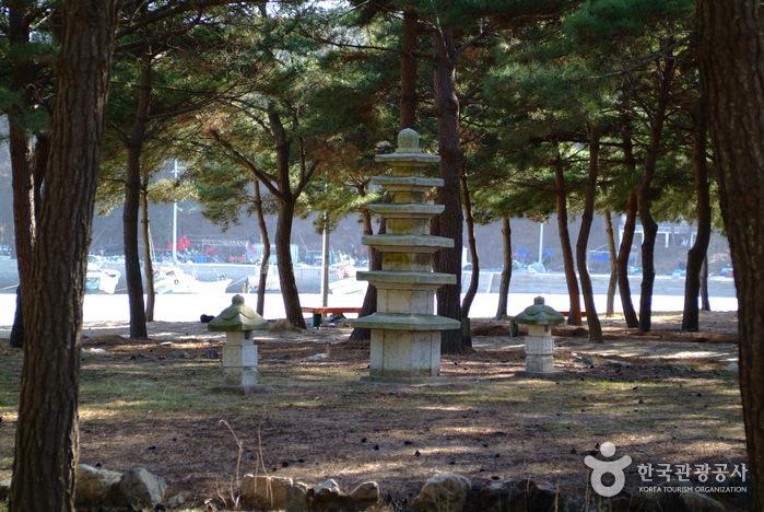 恋浦海水浴場(연포해수욕장)