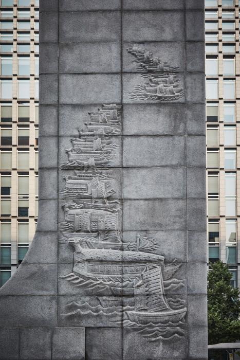 Estatua del Almirante Yi Sun-shin (충무공 이순신 동상)18