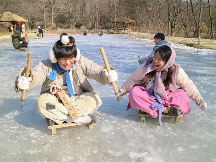 한국민속촌 '설원의 사냥꾼' 2020