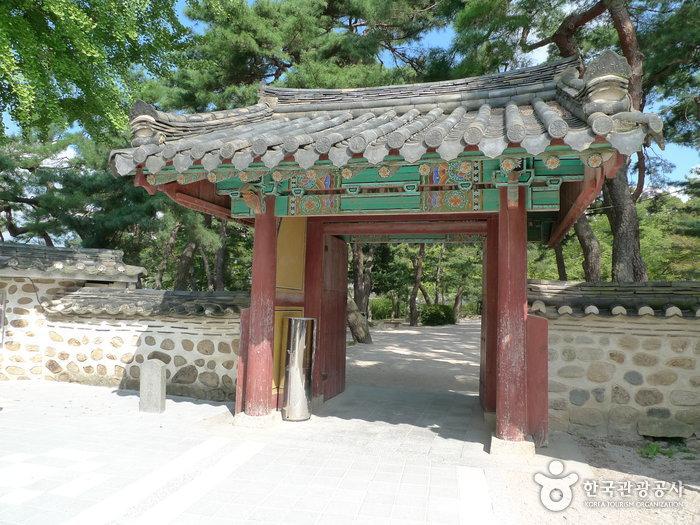 Historische Stätte Poseokjeong (포석정지)