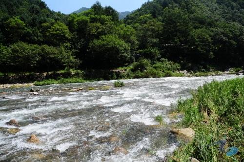 녹수계곡 사진1