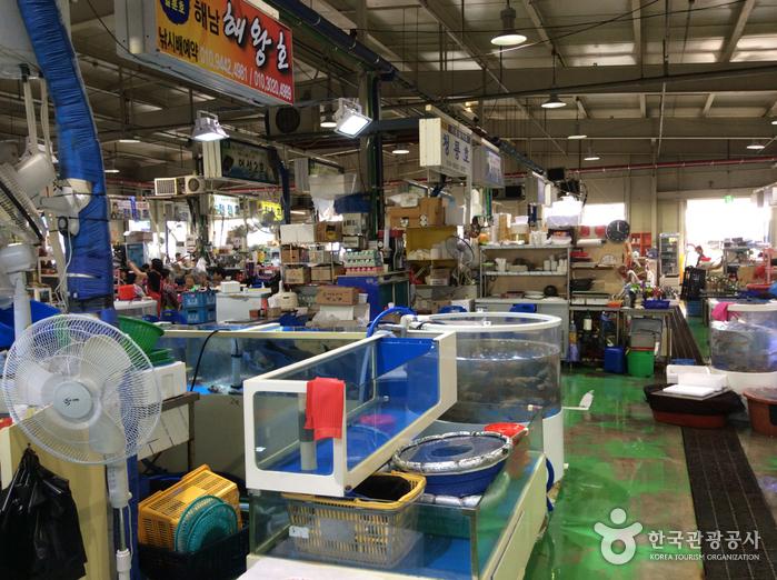 궁평항수산물직판장