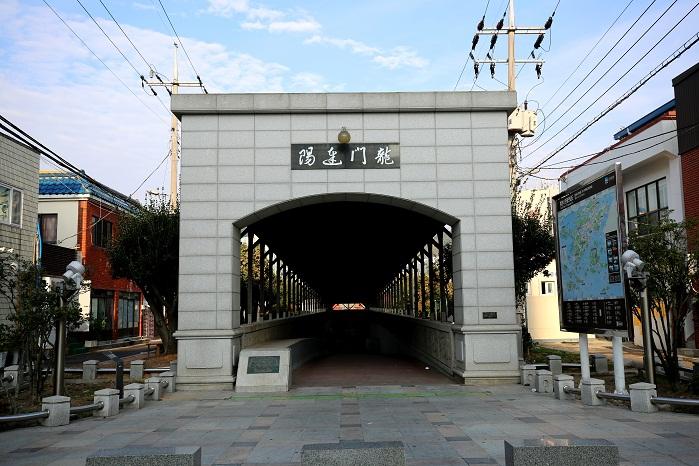 1932년에 완공한 동양 최초의 해저터널