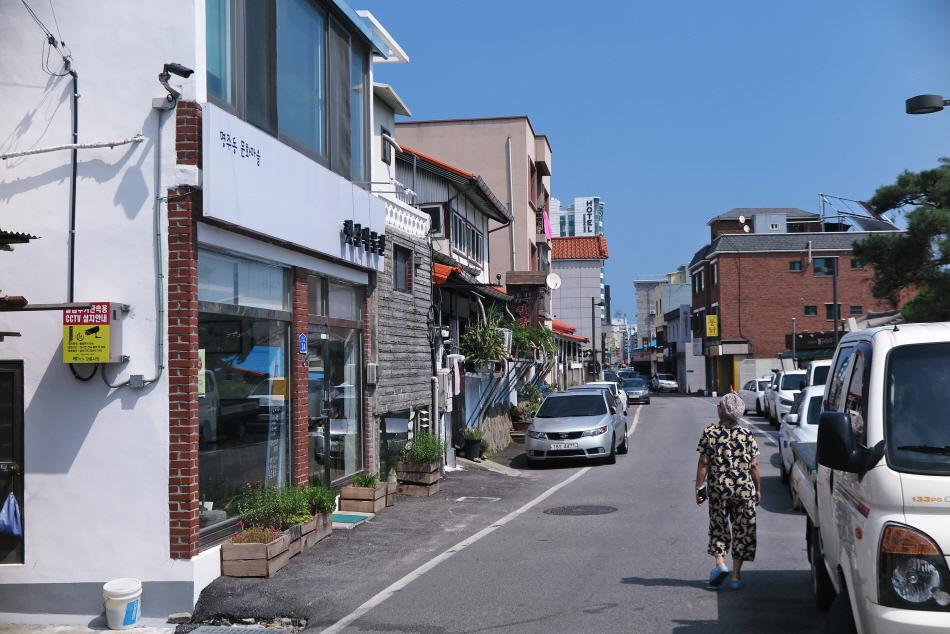 햇살박물관 앞 남문로는 예전에 서울 가는 버스가 다닌 길이다.