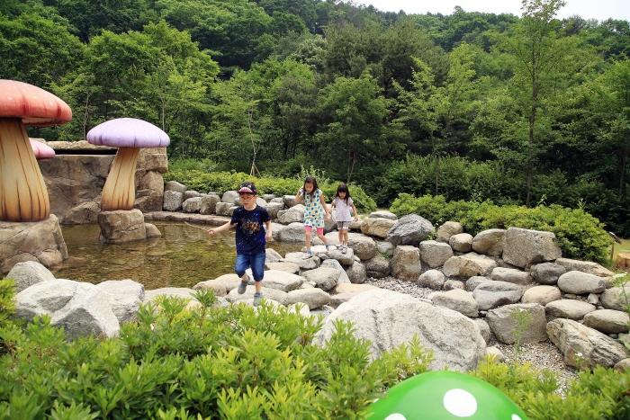 식물원의 피크닉광장