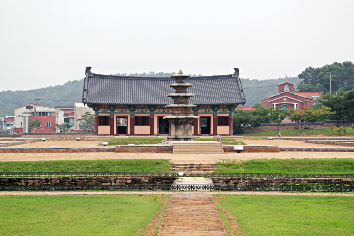 Jeongnimsaji Temple Site · Five-story Stone Pagoda at Jeongnimsaji Temple Site, Buyeo [UNESCO World Heritage] (부여 정림사지.정림사지 오층석탑 [유네스코 세계문화유산])