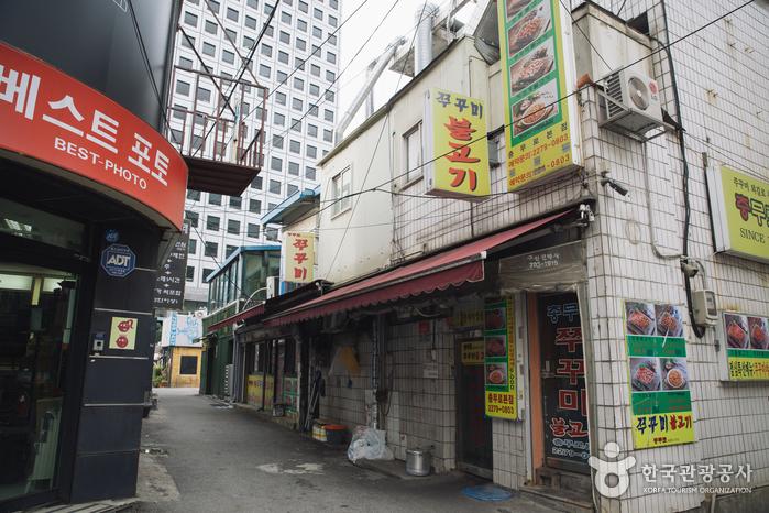 Ресторан Чхунмуро Ччуккуми Пулькоги (충무로 쭈꾸미 불고기)4