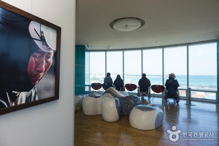 해녀박물관 3층 전망대