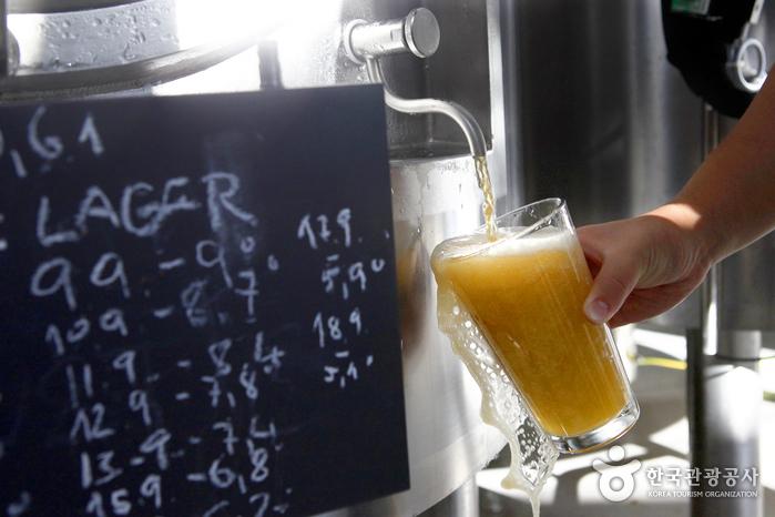 체코식 수제 맥주를 맛볼 수 있는 Praha993