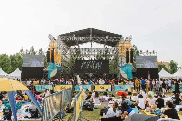 Музыкальный фестиваль DMZ Peace Train (DMZ 피스트레인 뮤직 페스티벌 2019)4