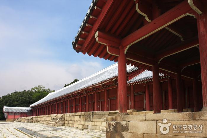 Le sanctuaire Jongmyo (종묘)
