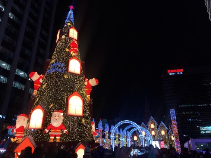 Festival de Noël 2017 à Séoul 서울 크리스마스 페스티벌 2017
