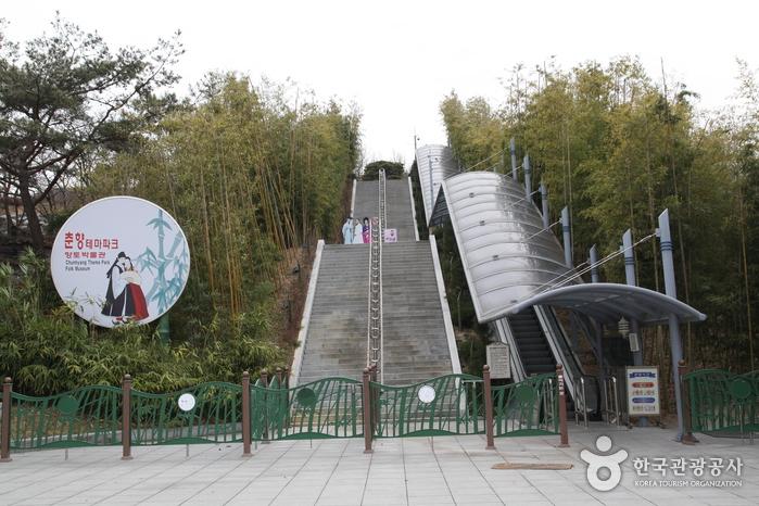 Parc Chunhyang à Namwon