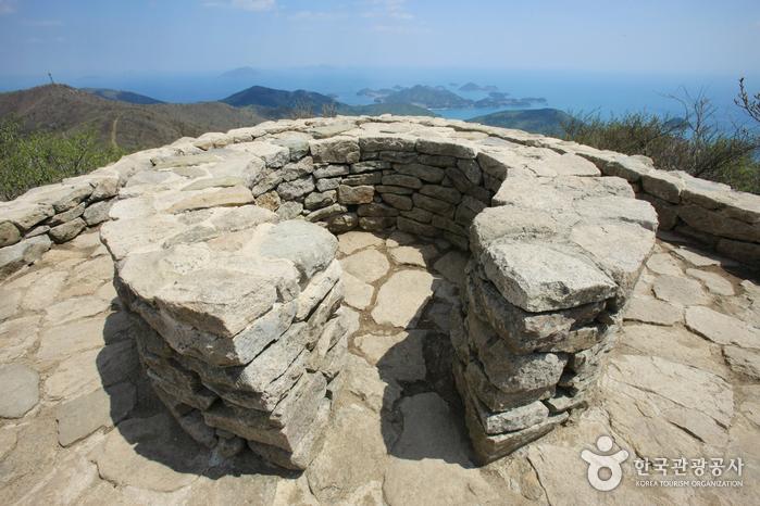 남해 금산 봉수대