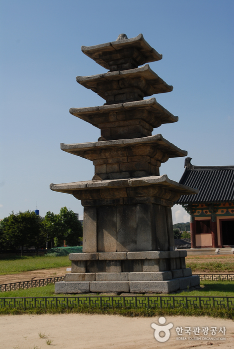 Jeongnimsaji (Jeongnimsa Temple Site) (부여 정림사지-정림사지 오층석탑)