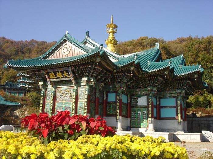Храм Помнюнса (법륜사(용인 문수산))2