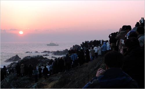 Ulsan Ganjeolgot Sunrise Festival (울산 간절곶 해맞이축제)