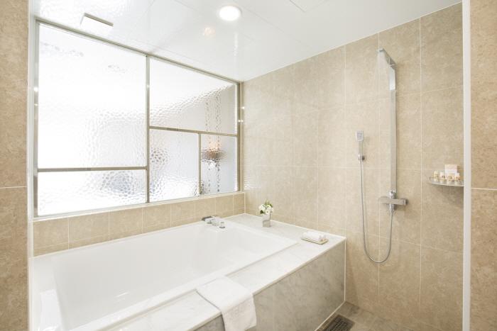 베니키아 프리미어 해운대 호텔-프리미엄 디럭스 더블 욕실