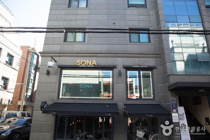 Кафе SONA (소나)6