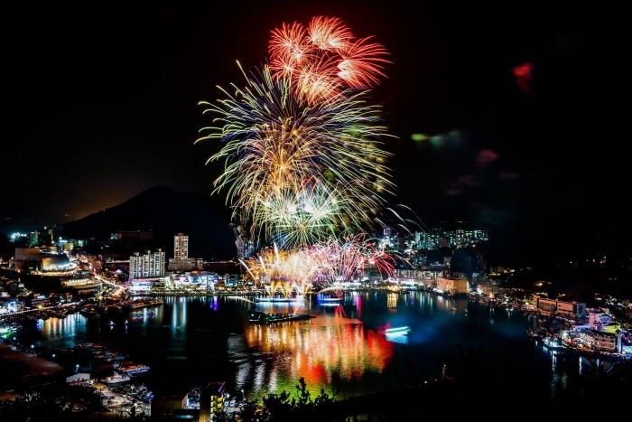 거제 장승포항 송년불꽃축제 2019
