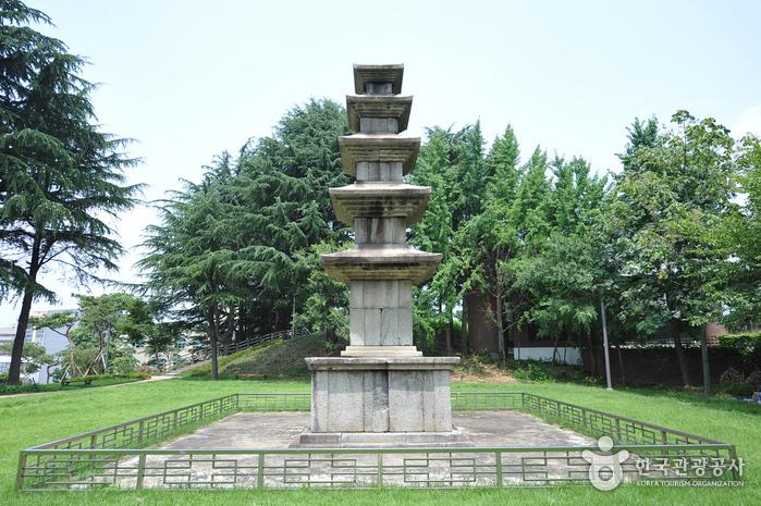 (전)광주 성거사지 오층석탑